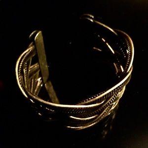 Jewelry - Gold cuff bracelet